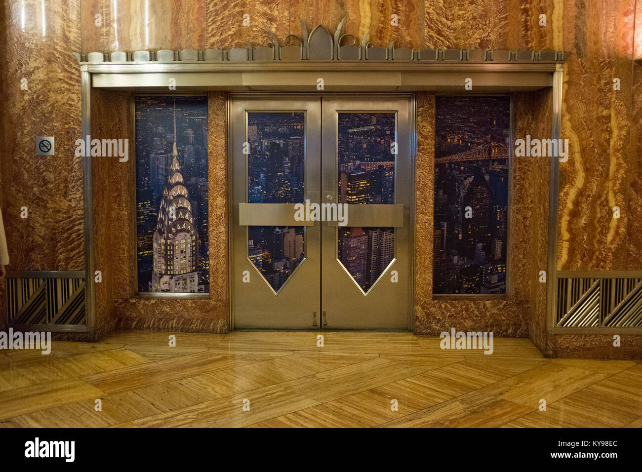 The Chrysler Building, Midtown Manhattan, New York City, USA - Stock Image