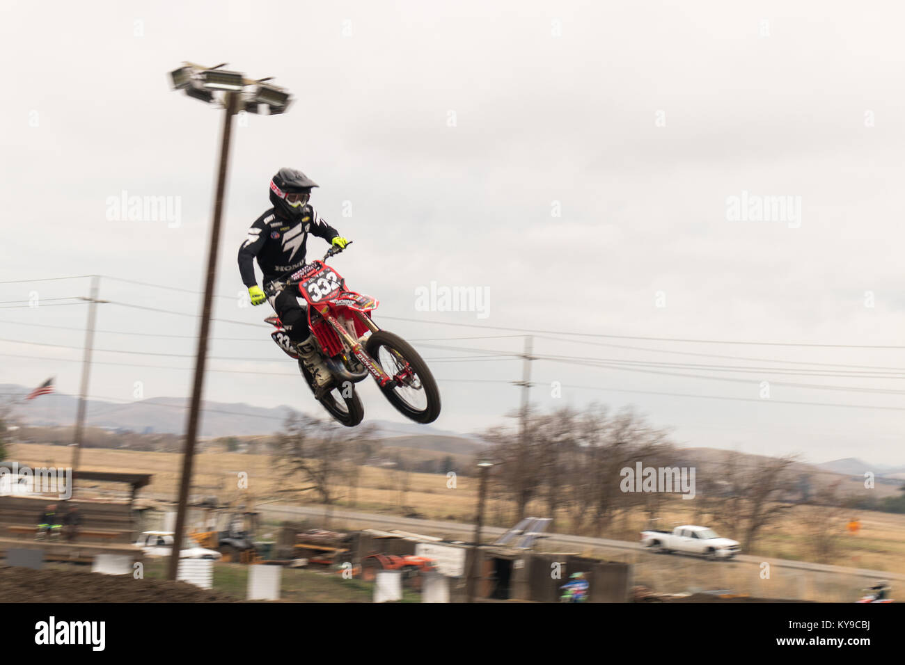 Dirt Bike High Resolution Stock Photography And Images Alamy