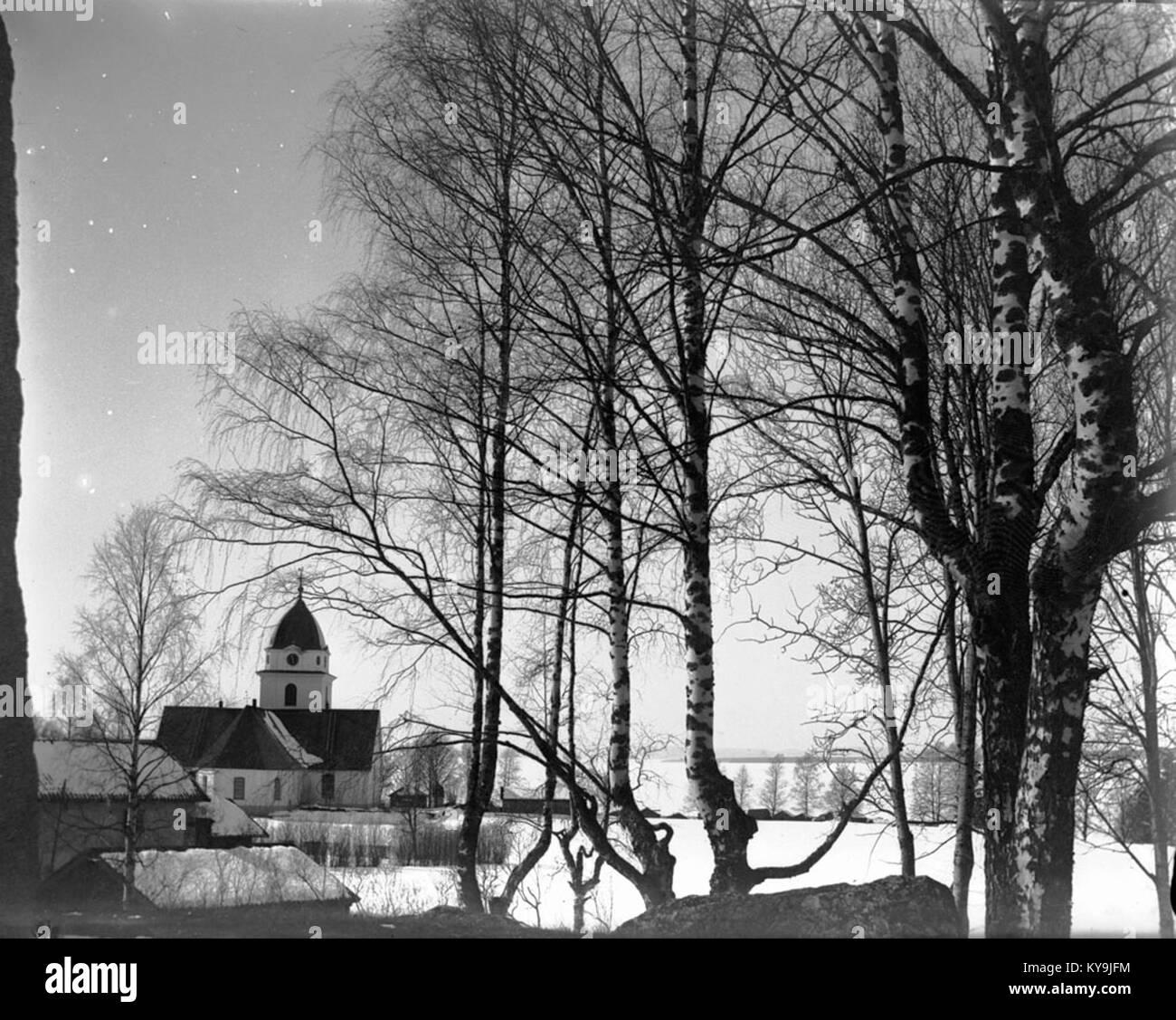 Rättvik Church, Dalarna, Sweden - Stock Image