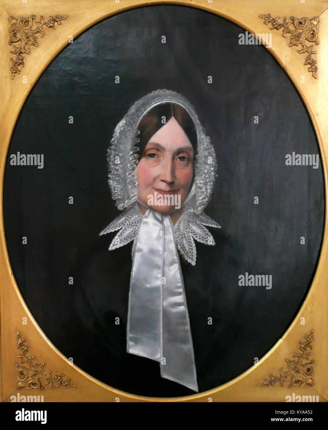 Porträt Maria Franziska Caroline Wilhelmine Harten, geborene Schmidts - Stock Image