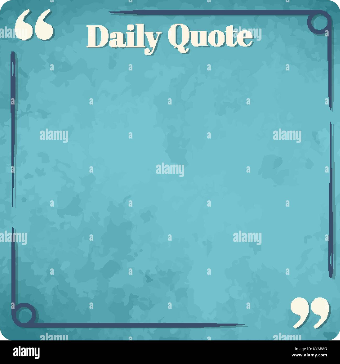 square frame simple design for quotes and sayings of famous