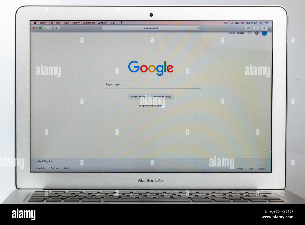 Google search engine - Stock Image