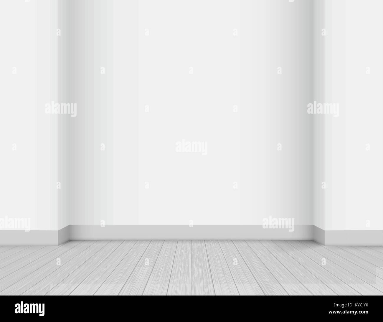 Studio wall background - Stock Vector