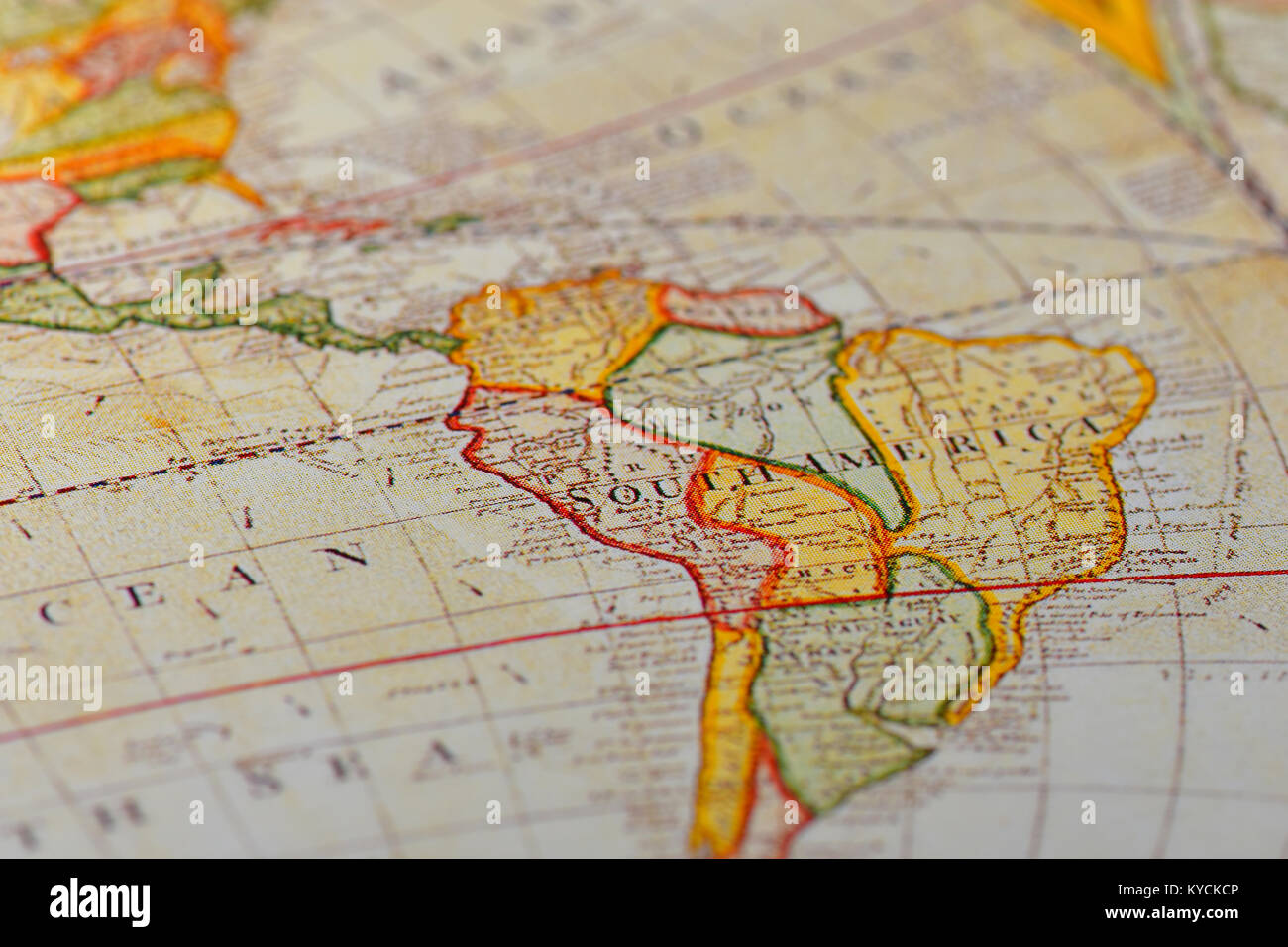 A World Map With Longitude And Latitude Lines.World Map Longitude Latitude Lines Stock Photos World Map