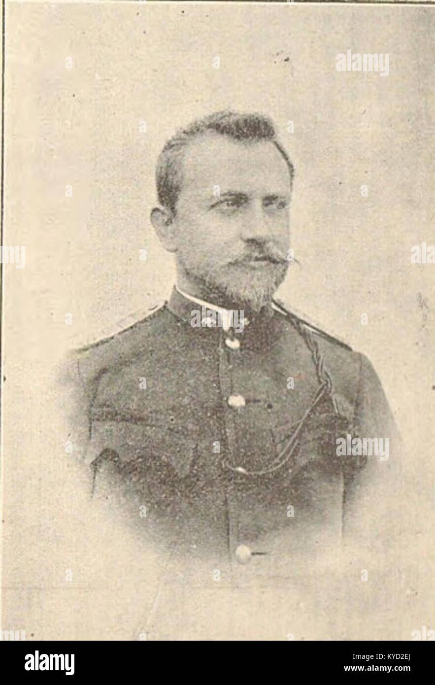 Picture of A. Goldmann from Hasičská kronika - Stock Image