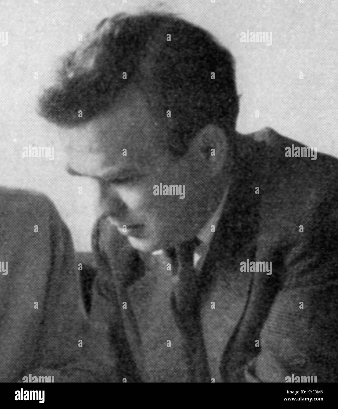Torbjörn Olsson 1955 - Stock Image