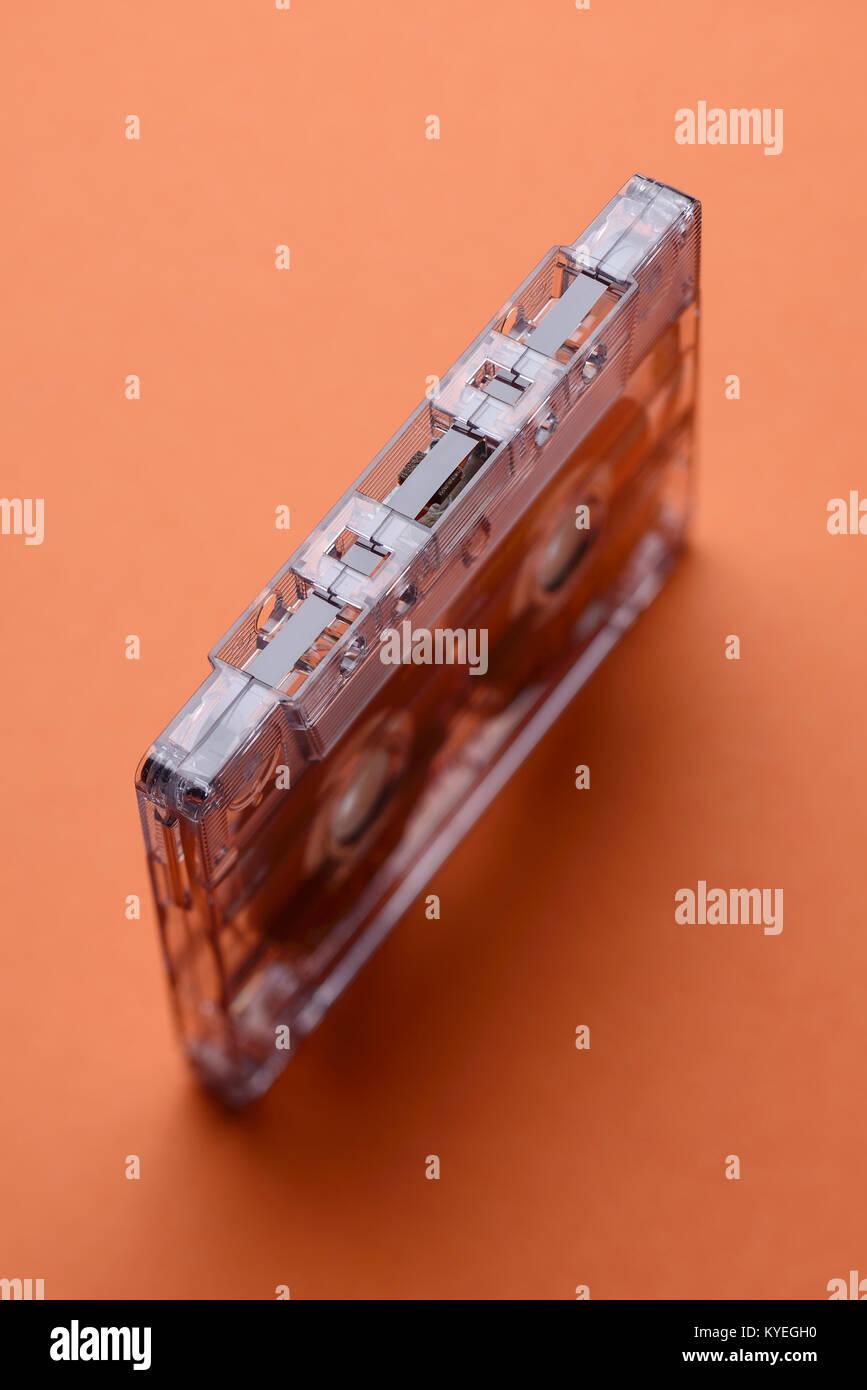 Audio tape cassette - Stock Image