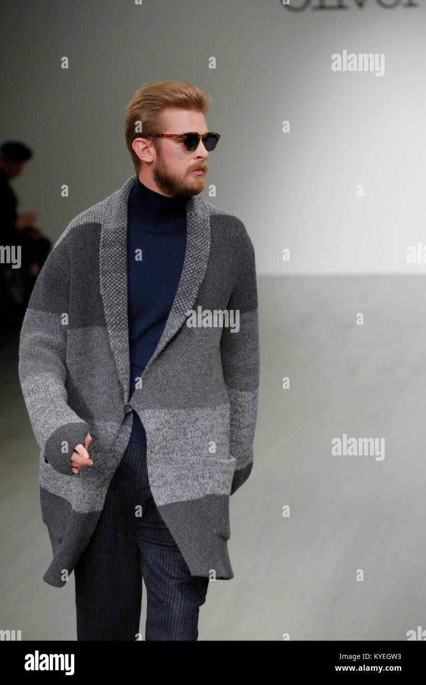 British Fashion Designer Oliver Spencer Presenting His New Season Stock Photo Alamy