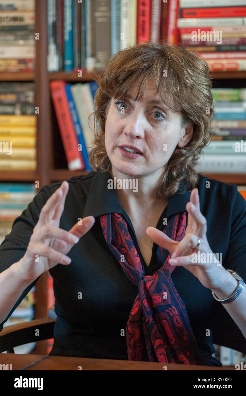 Professor Patricia Thornton - Tutor in the Politics of China, Associate Professor of Chinese Politics at Merton - Stock Image
