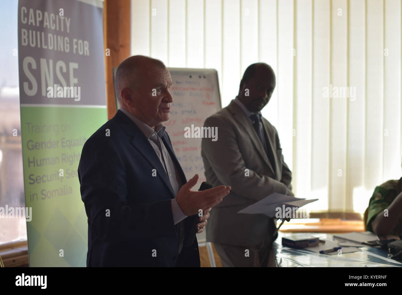 Fgs Security somalia conflict, security, and stability fund (cssf