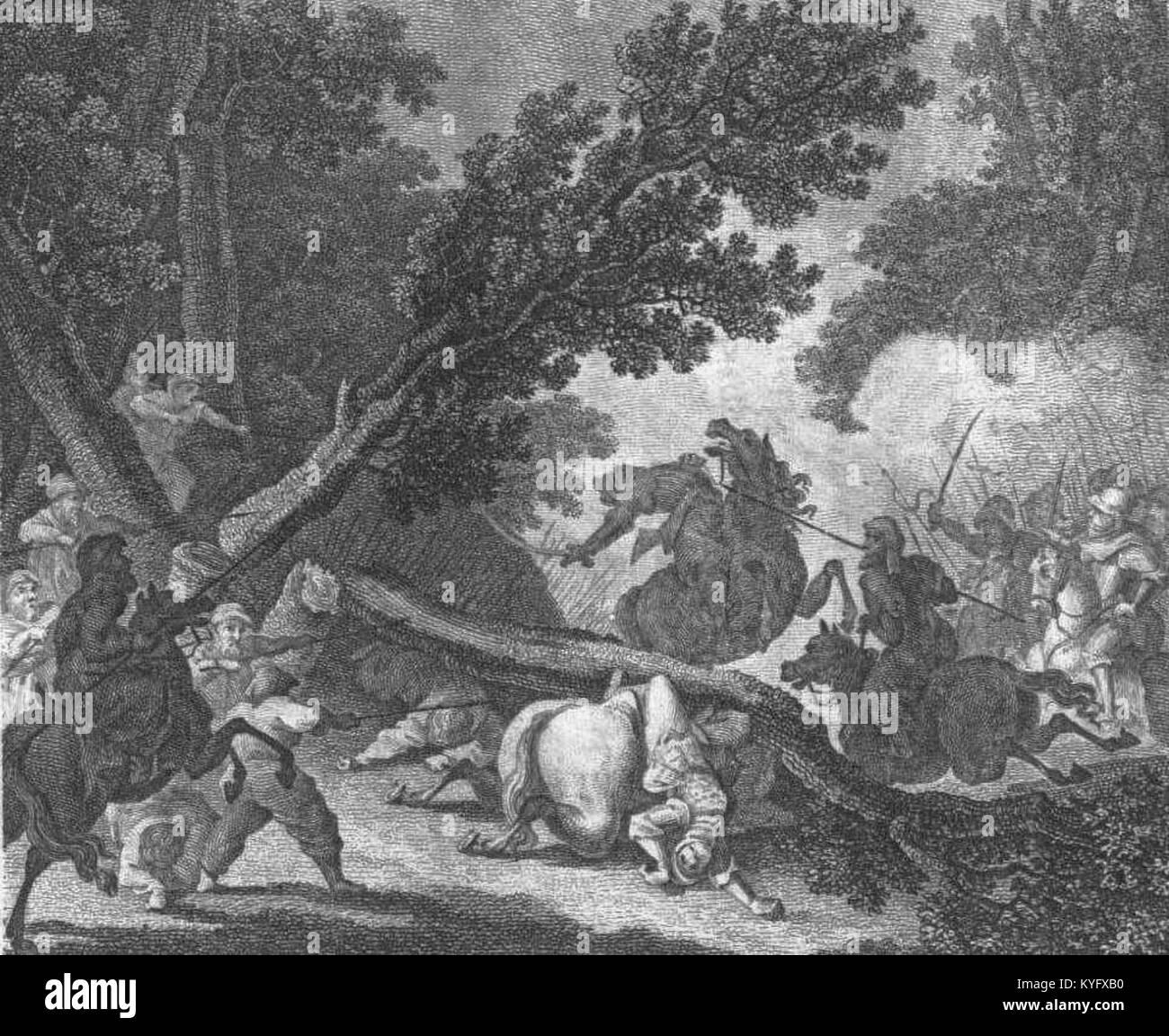 PL Julian Ursyn Niemcewicz - Śpiewy historyczne page 186 Stock Photo