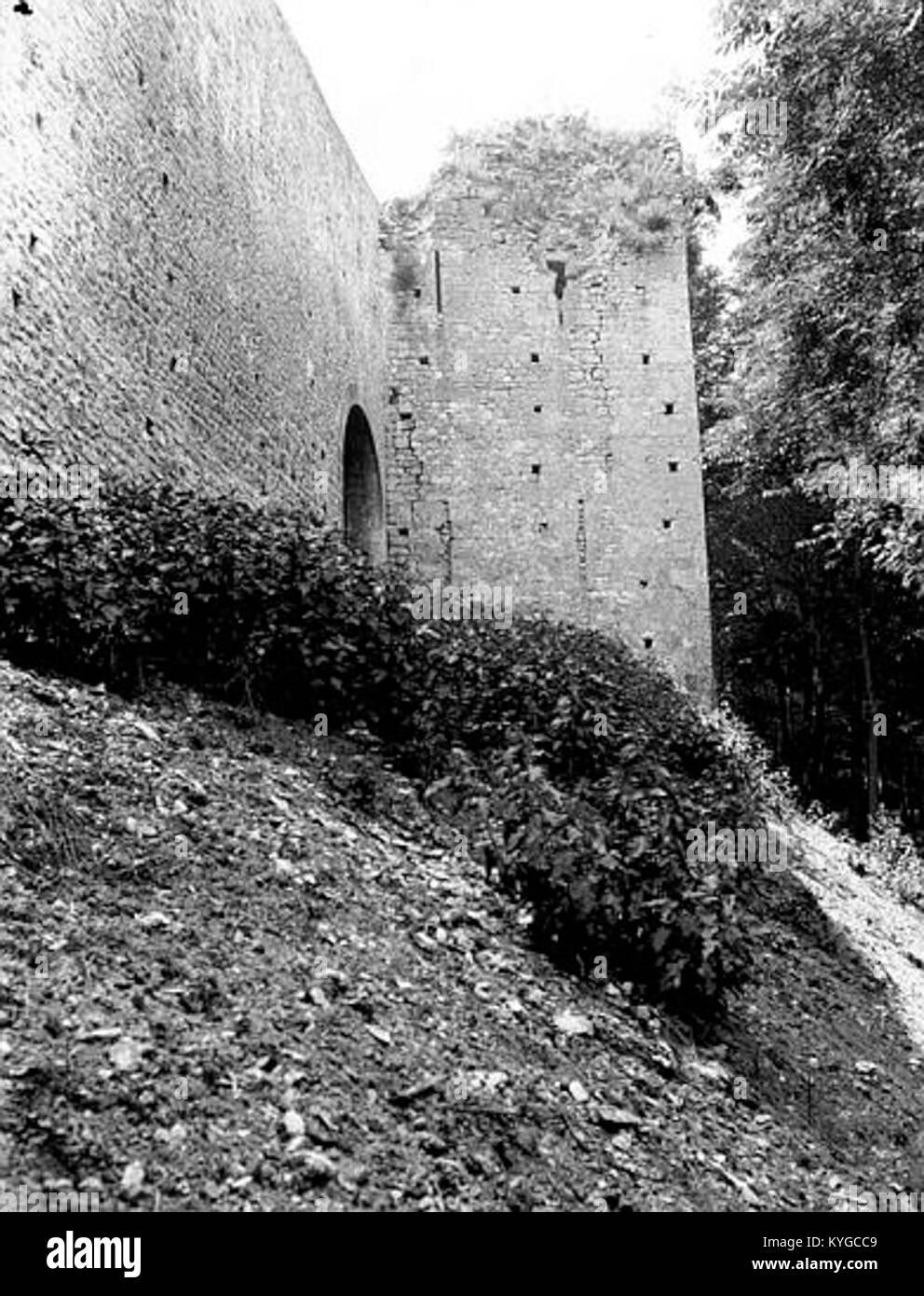 Remparts - Poudrière - Provins - Médiathèque de l'architecture et du patrimoine - APMH00031707 - Stock Image
