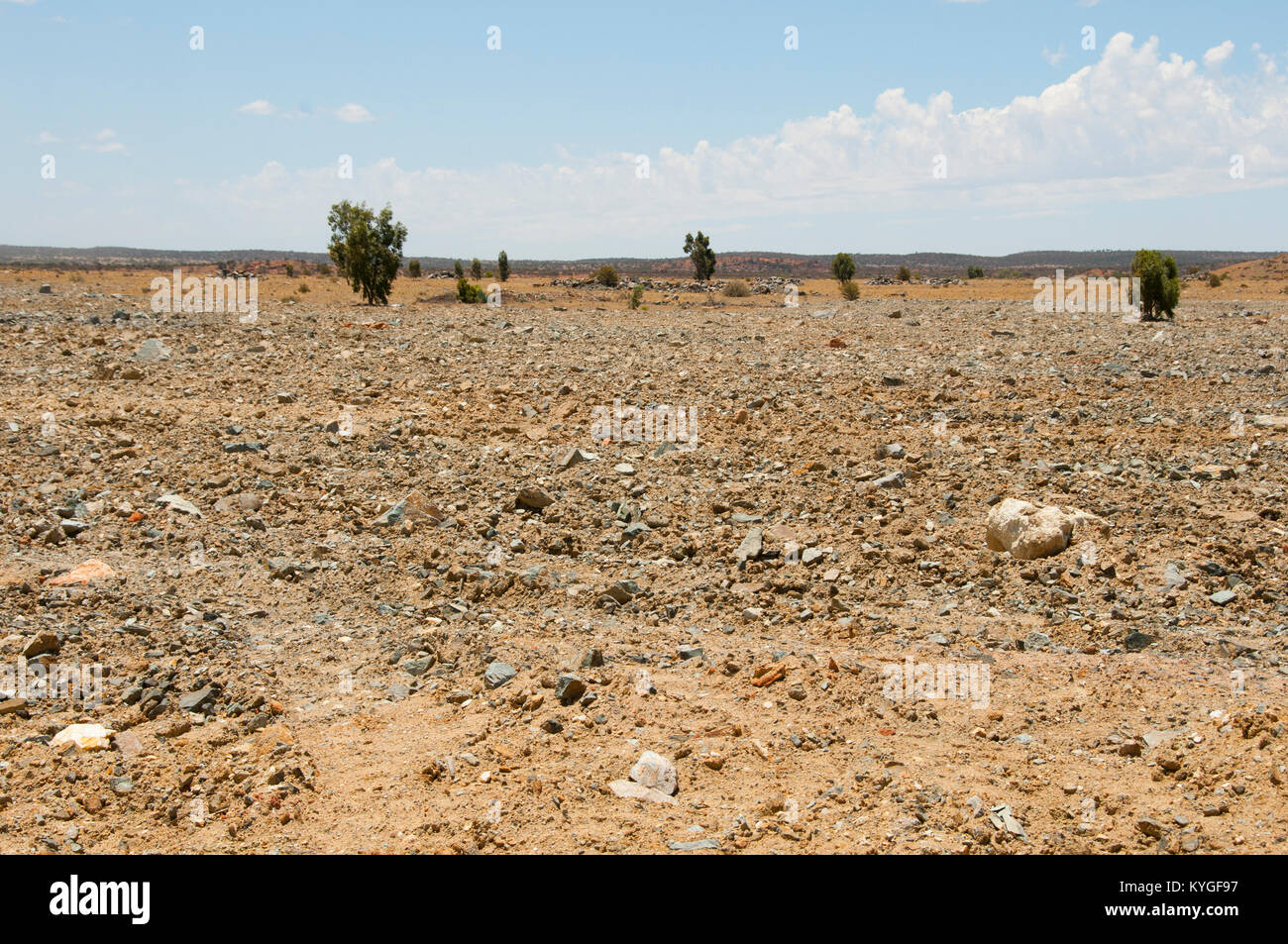 Old Buried Landfill - Stock Image