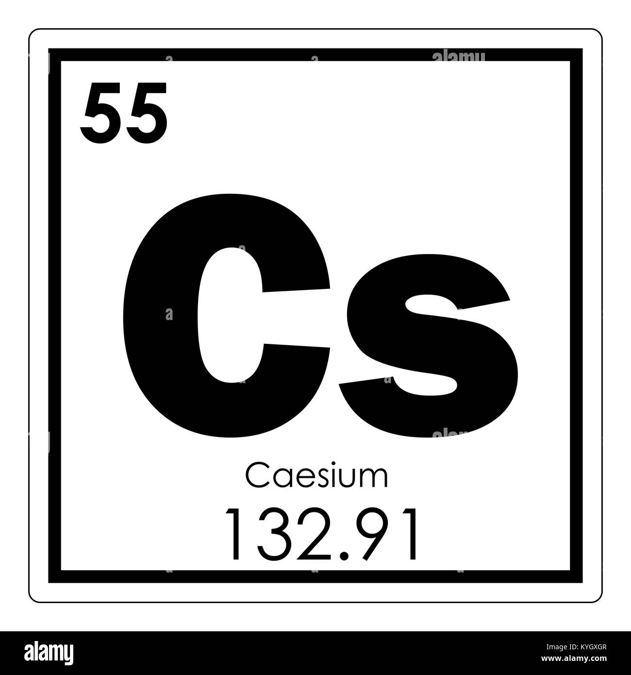 Caesium Stock Photos & Caesium Stock Images