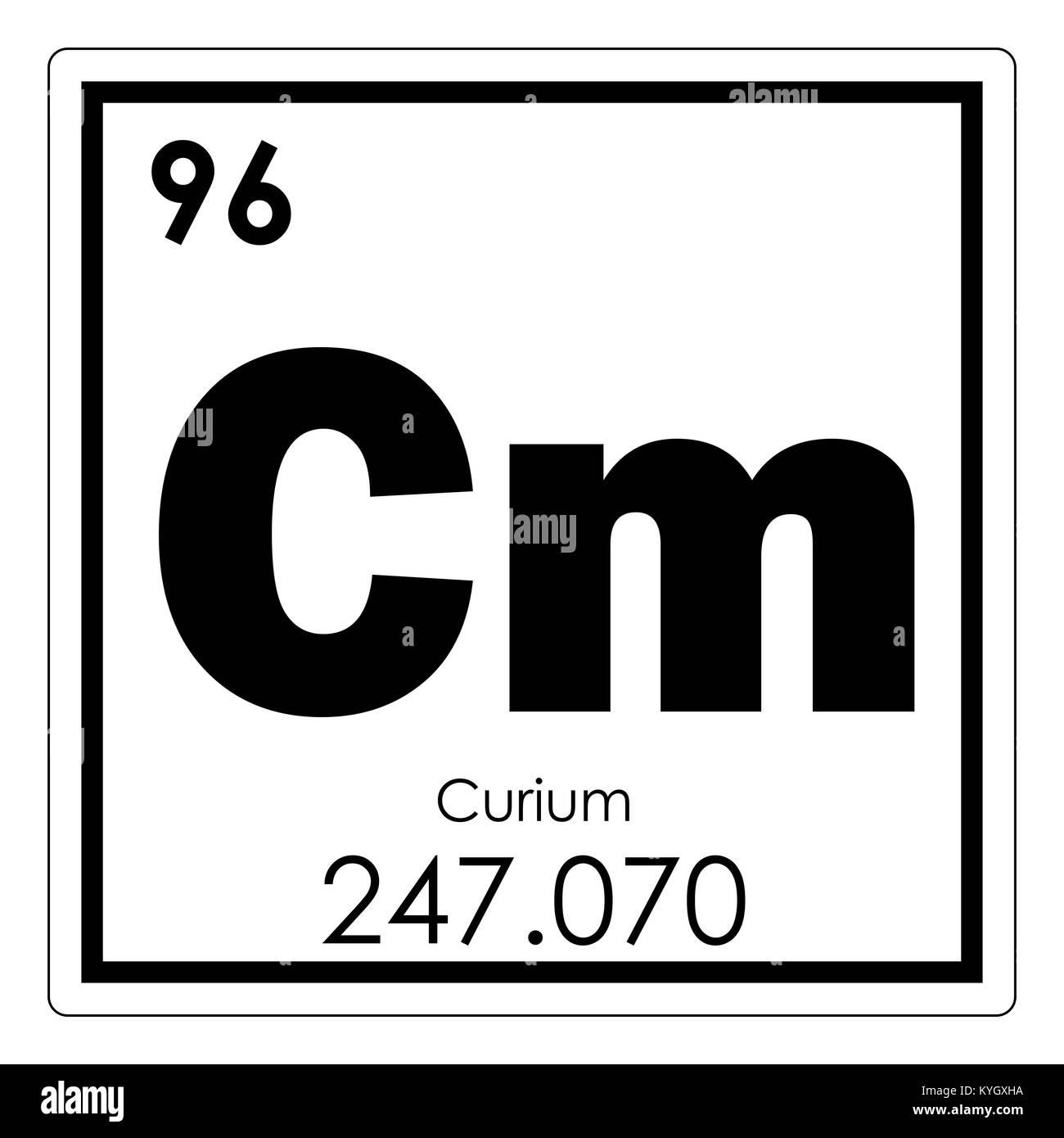 Curium chemical element periodic table science symbol stock photo curium chemical element periodic table science symbol urtaz Choice Image