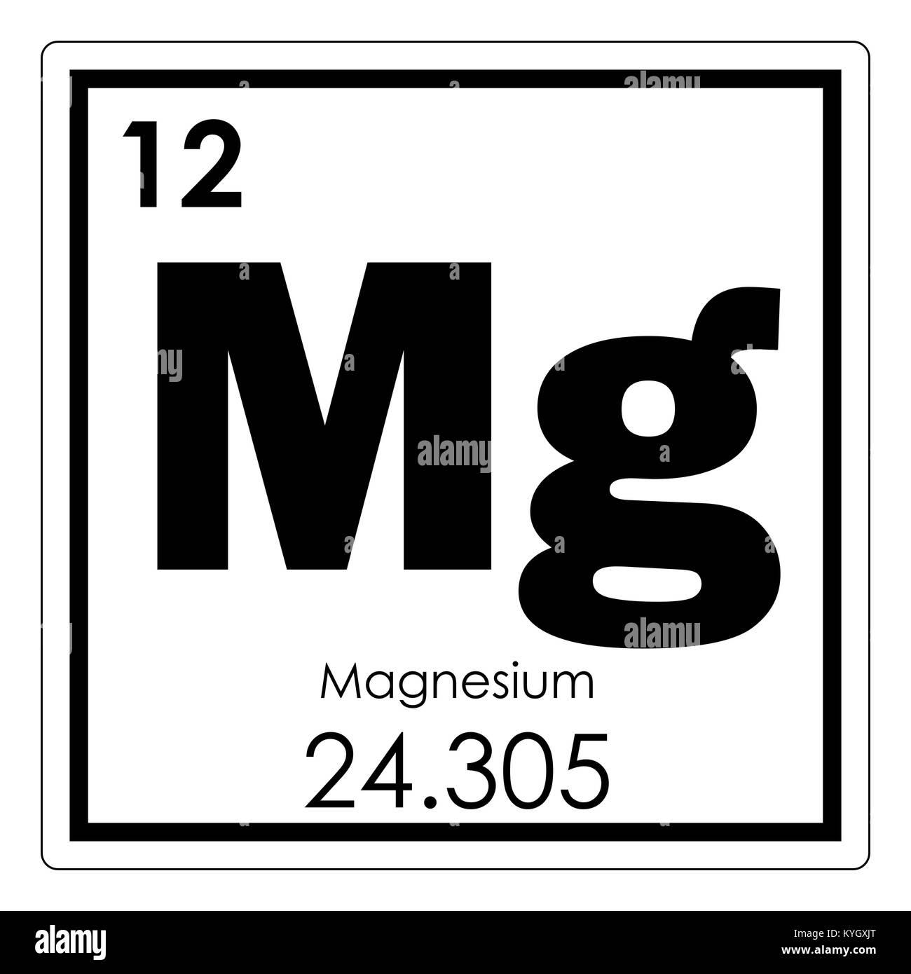 Magnesium chemical element periodic table science symbol stock photo magnesium chemical element periodic table science symbol urtaz Images