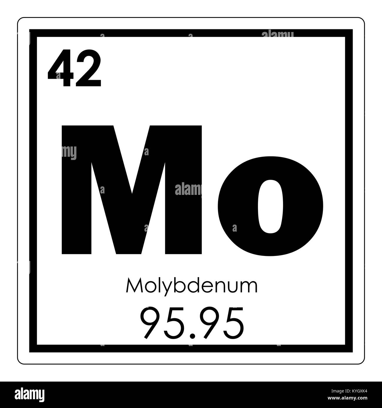 Molybdenum chemical element periodic table science symbol stock molybdenum chemical element periodic table science symbol urtaz Gallery