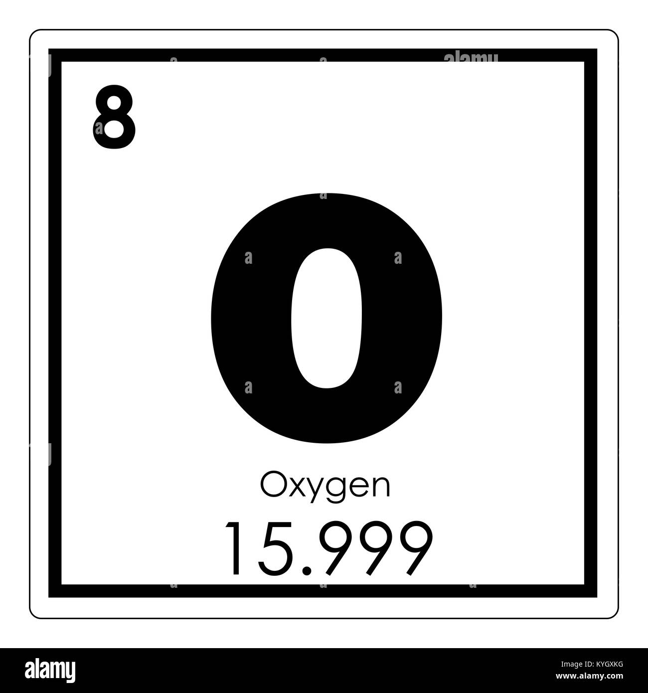 Oxygen chemical element periodic table science symbol stock photo oxygen chemical element periodic table science symbol urtaz Images
