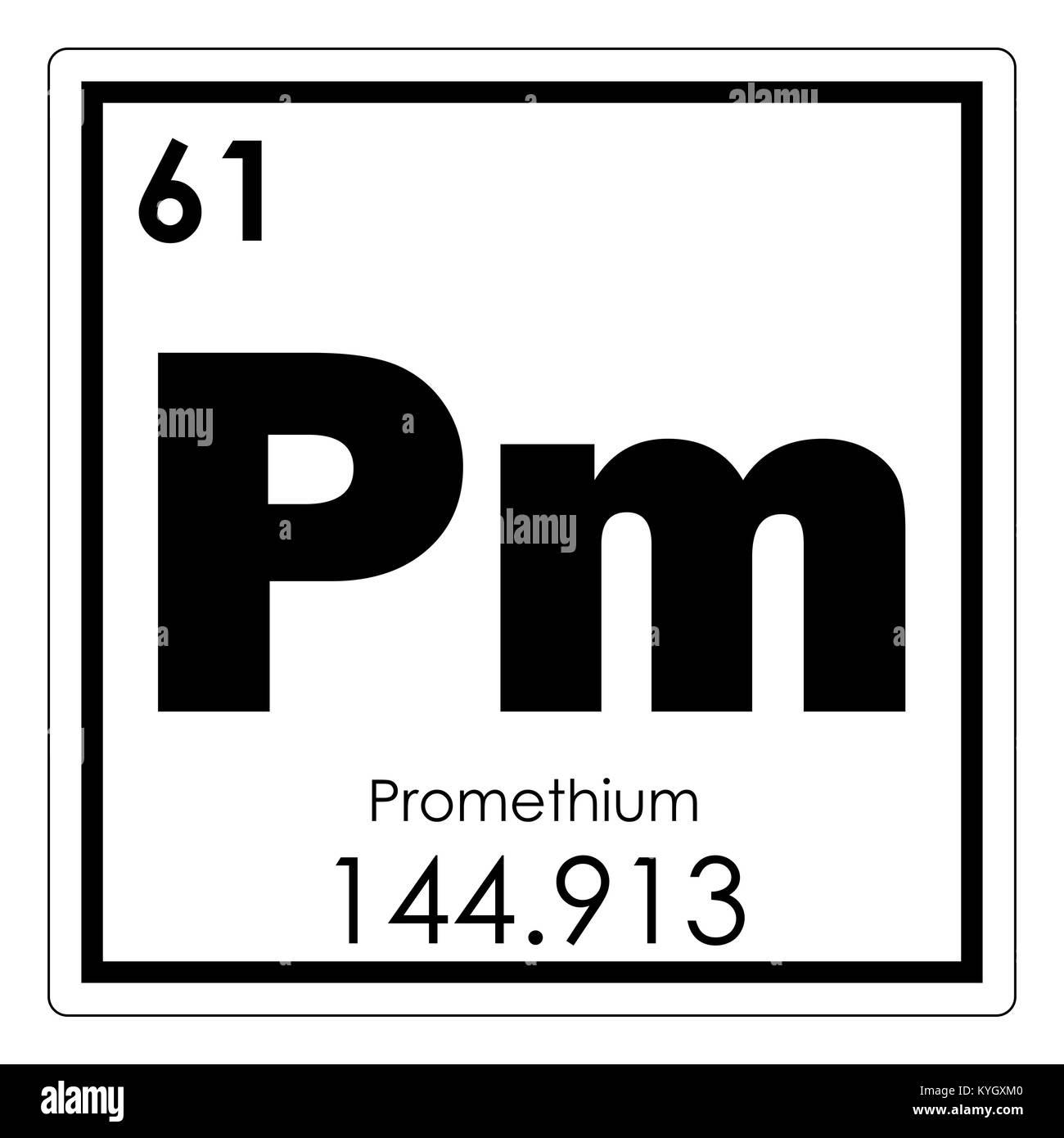 Promethium chemical element periodic table science symbol stock promethium chemical element periodic table science symbol urtaz Images