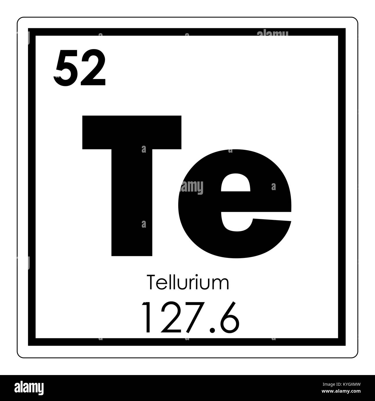 Tellurium chemical element periodic table science symbol stock photo tellurium chemical element periodic table science symbol urtaz Image collections