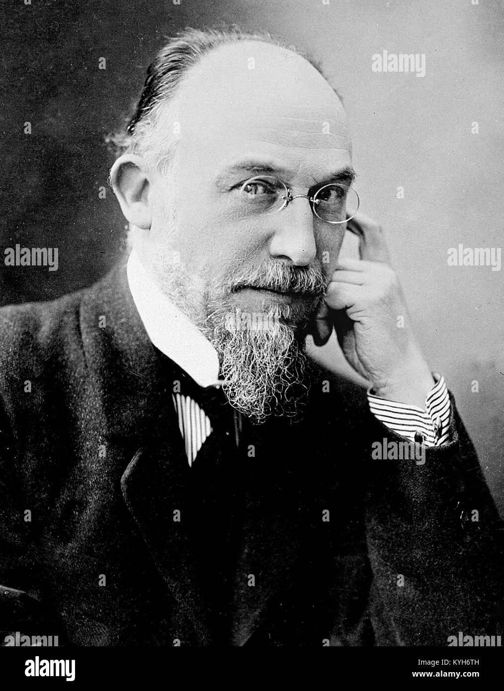 Éric Satie, Éric Alfred Leslie Satie, French composer and pianist - Stock Image