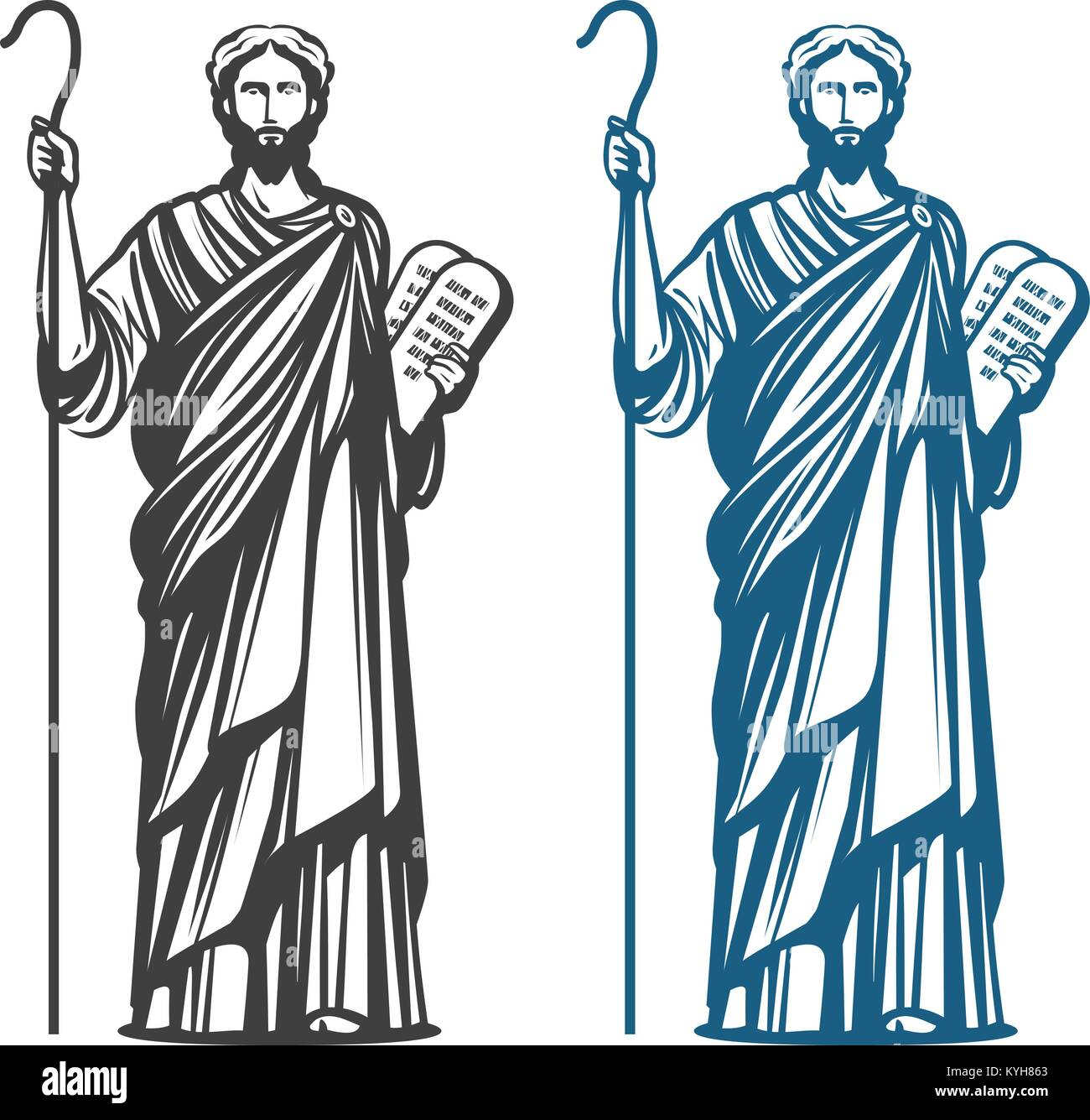 Two Stone Tablets Of The Ten Commandments High Resolution Stock Photography And Images Alamy