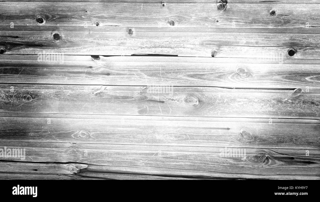 close up of wall made of wooden planks - Stock Image