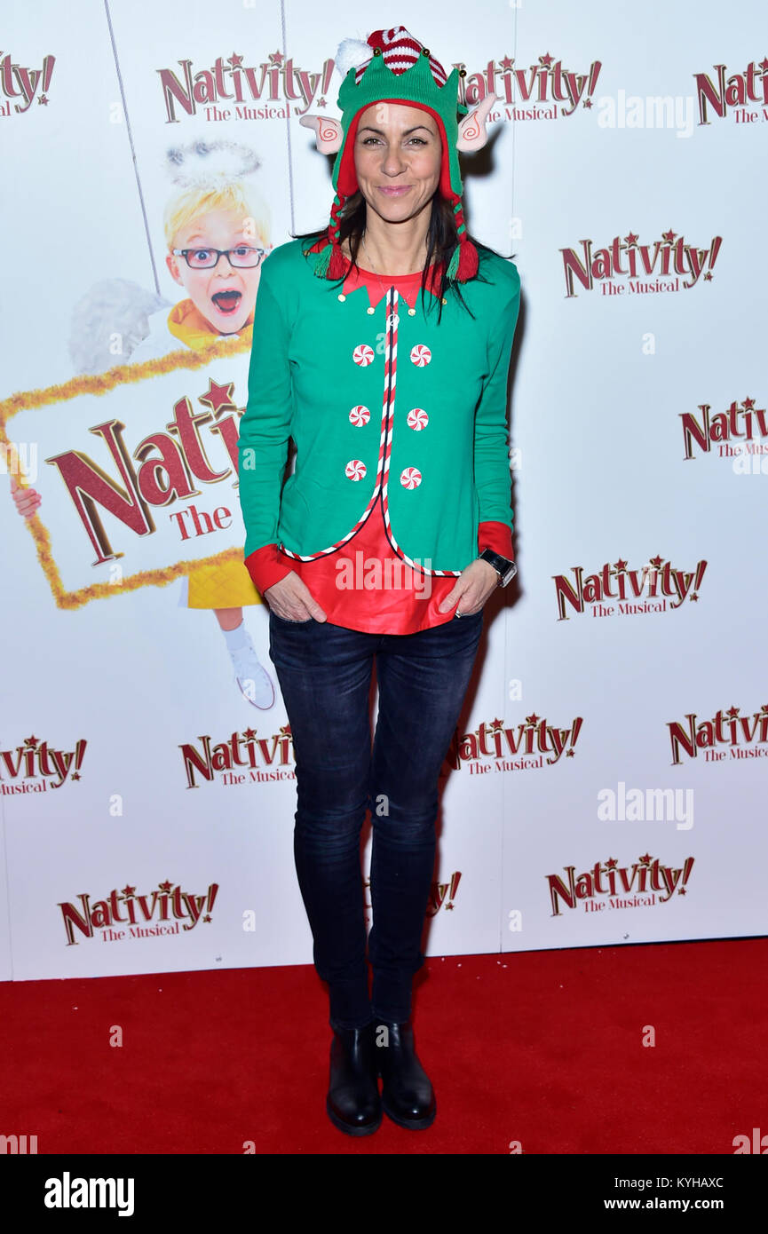 Arrivals For Nativity The Musical Held At Hammersmith Apollo Featuring Julia Bradbury Where London United Kingdom When 14 Dec 2017