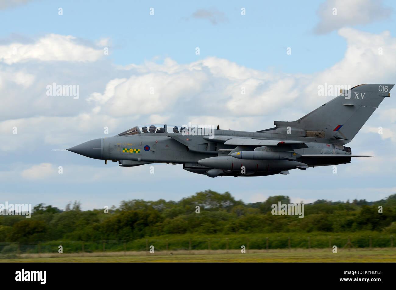 Royal Air Force RAF Tornado GR4 jet plane of 15 Squadron XV