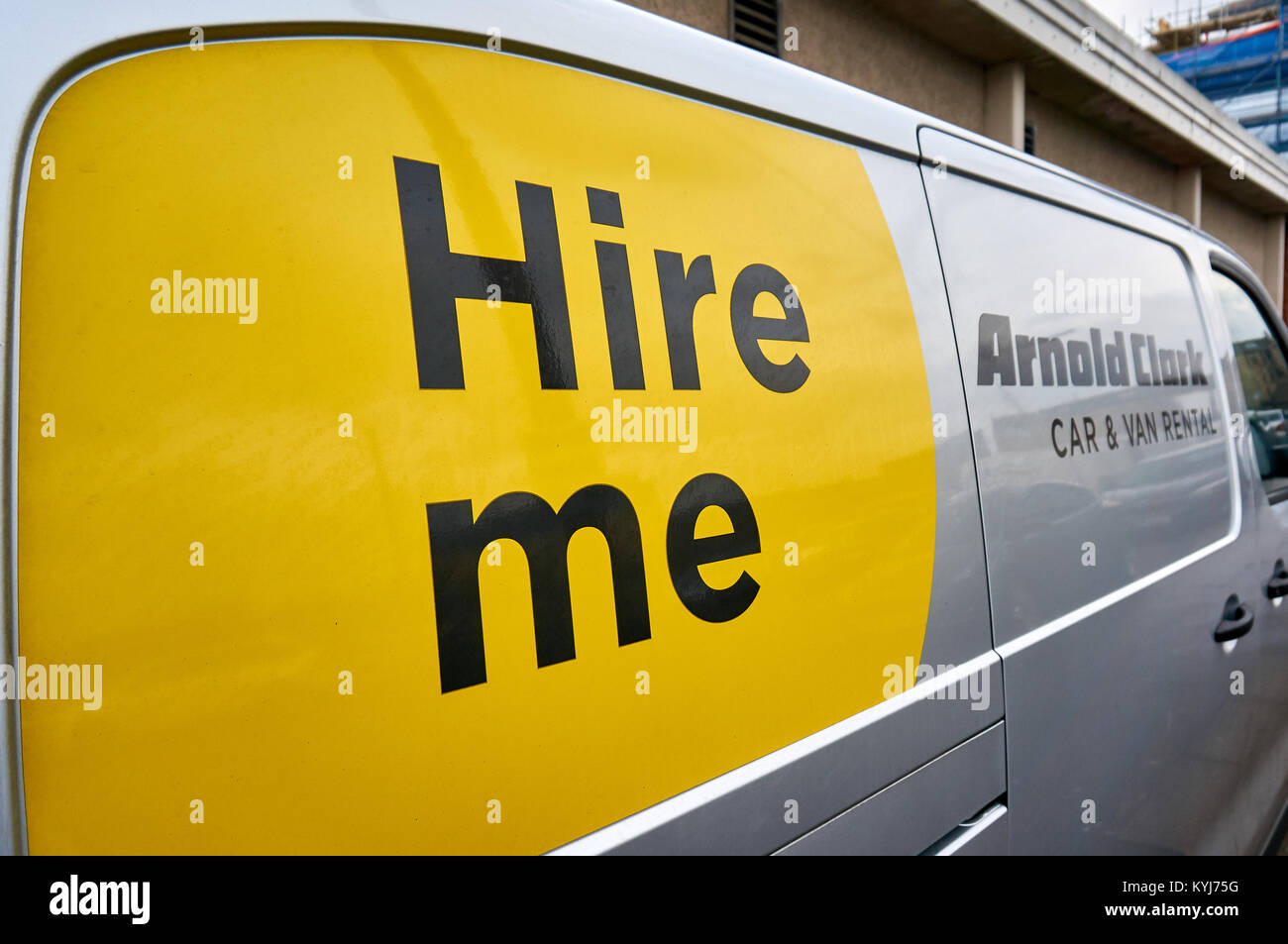 Arnold Clark Stock Photos Images Alamy Fuel Filters Photograph Of Logo On The Van Car And Rental Company