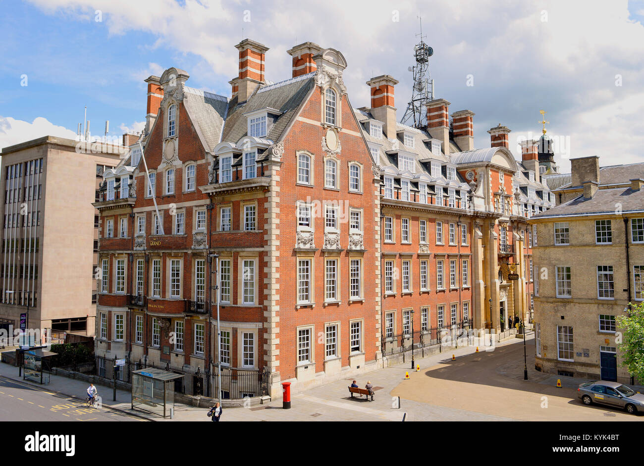 The Grand Hotel and Spa in the centre of York - Stock Image