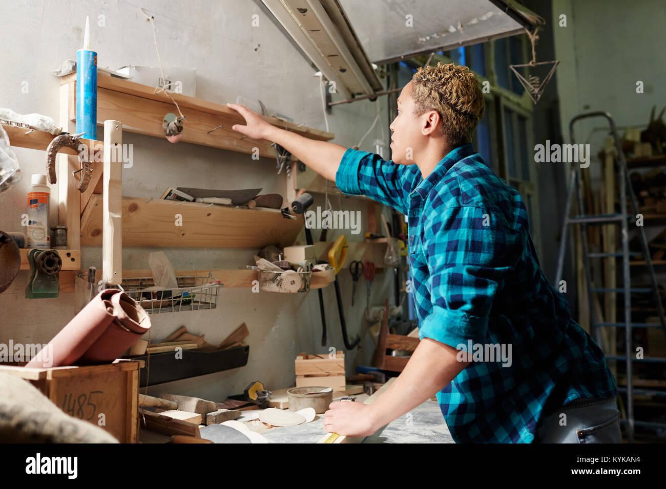Artisan at work - Stock Image