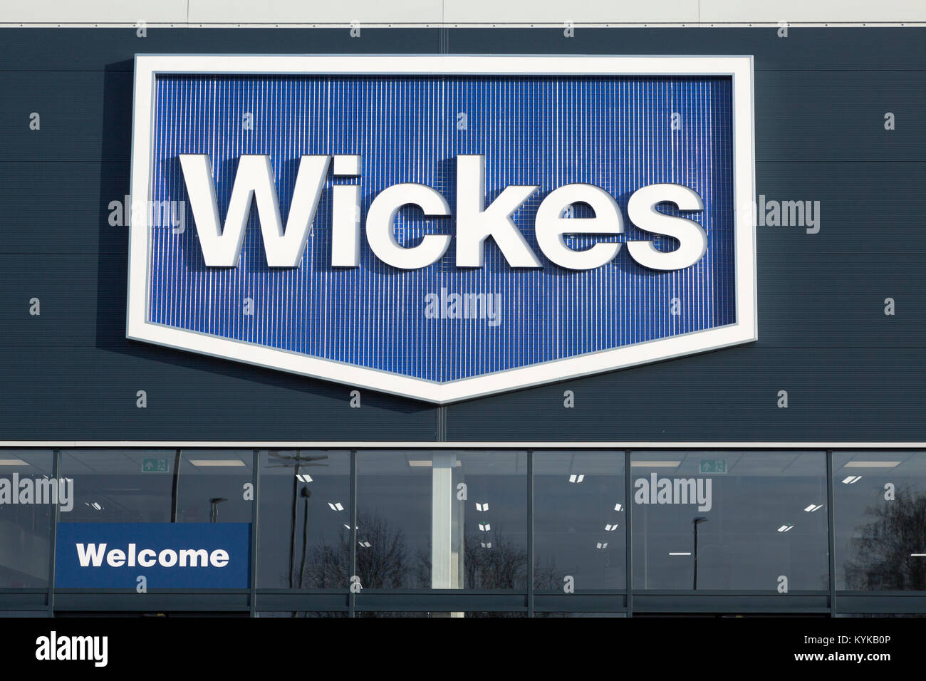 Wickes Store Stock Photos & Wickes Store Stock Images - Alamy