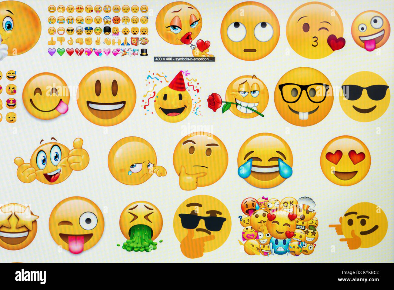 Emoticons Computer Stock Photos Emoticons Computer Stock Images