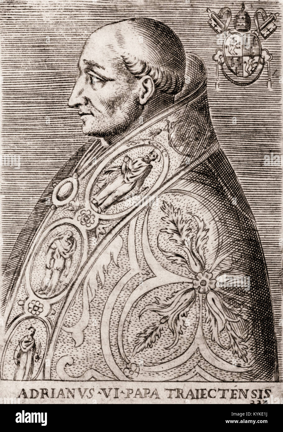 Pope Adrian VI, born Adriaan Florensz, 1459-1523, pope from 1522 to