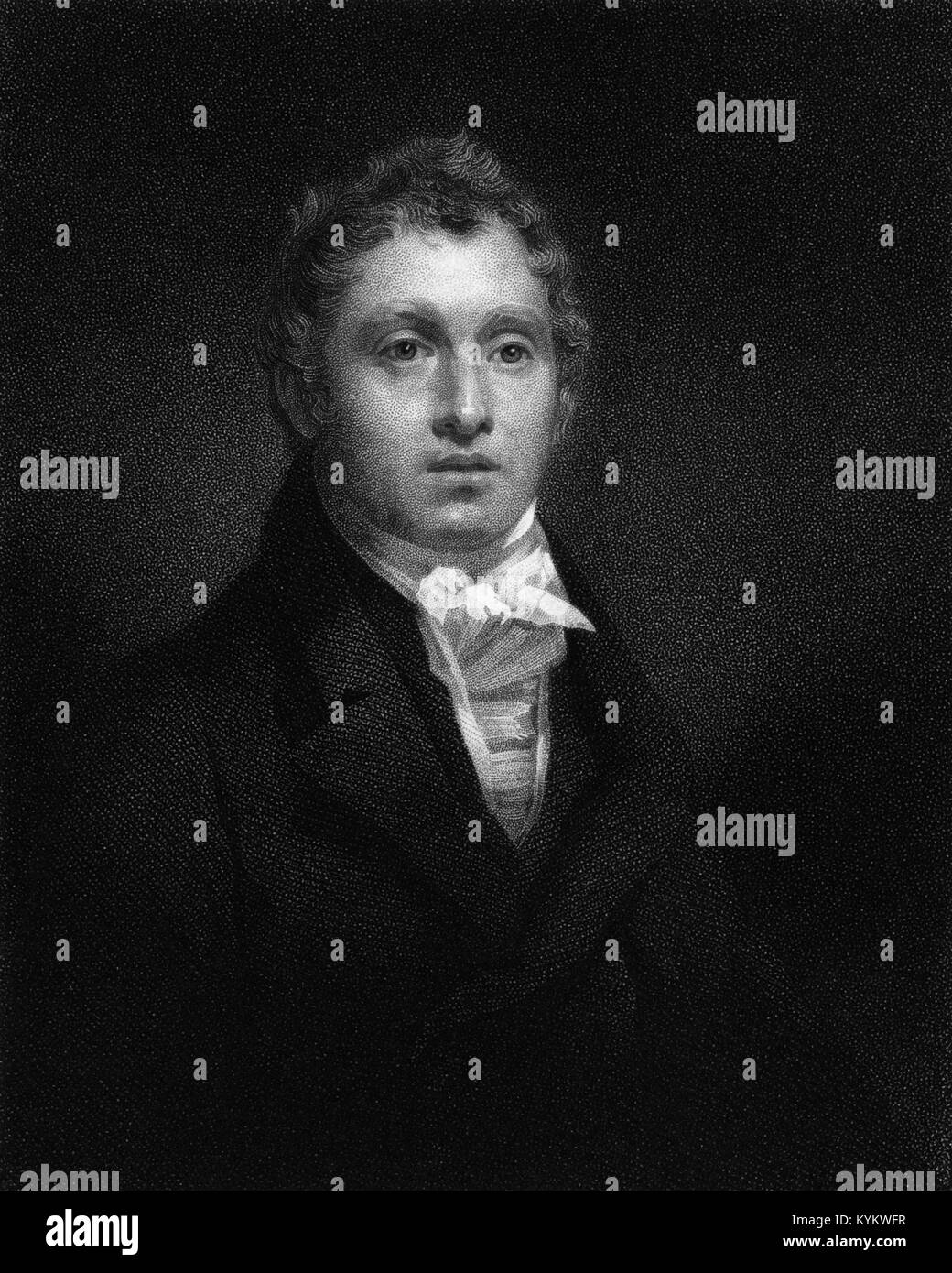 Sir David Brewster KH PRSE FRS FSA FSSA MICE (1781-1868) was a British physicist, mathematician, astronomer, inventor, - Stock Image
