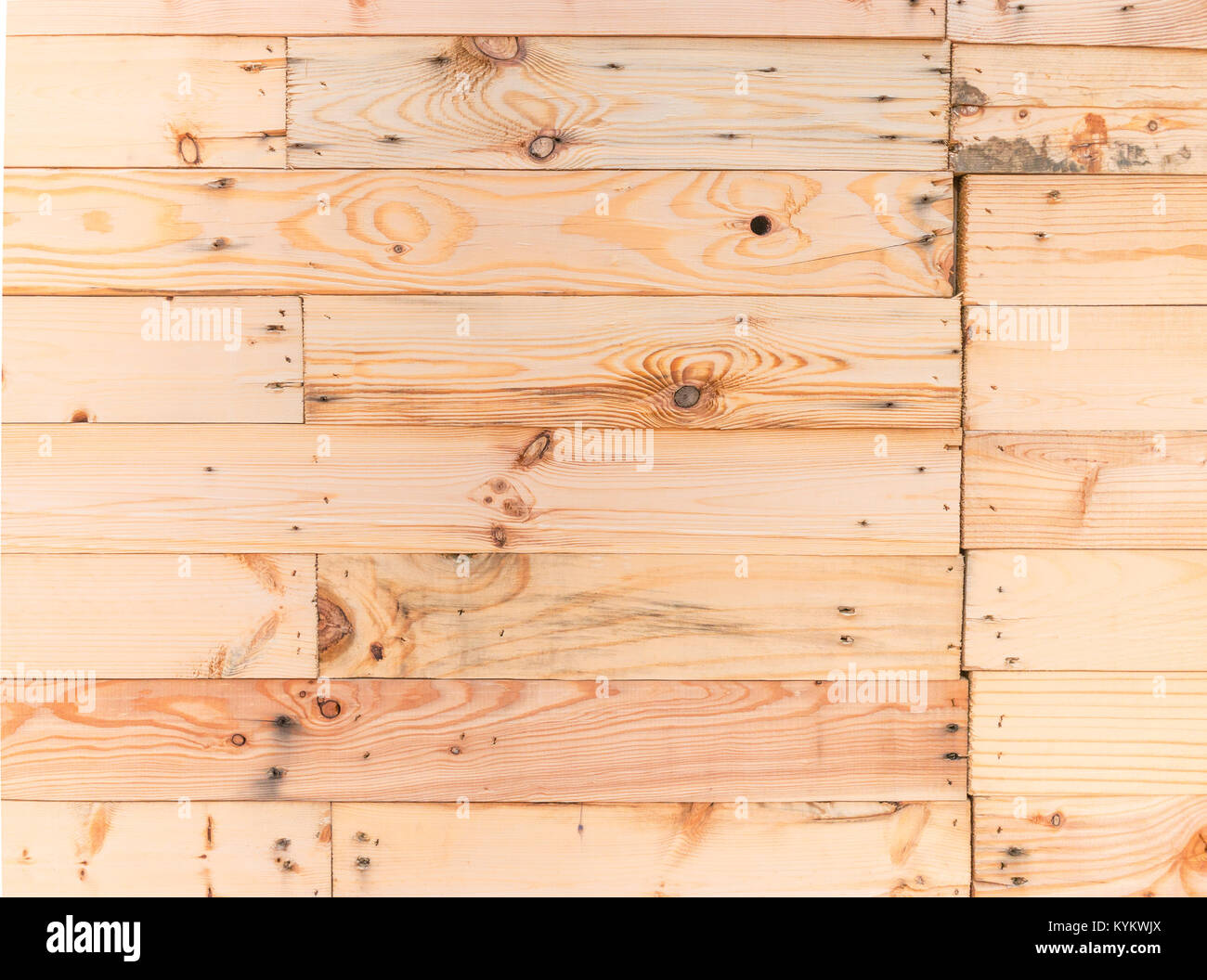 Old rustic beige color plank wood wall texture background,outdoor ...