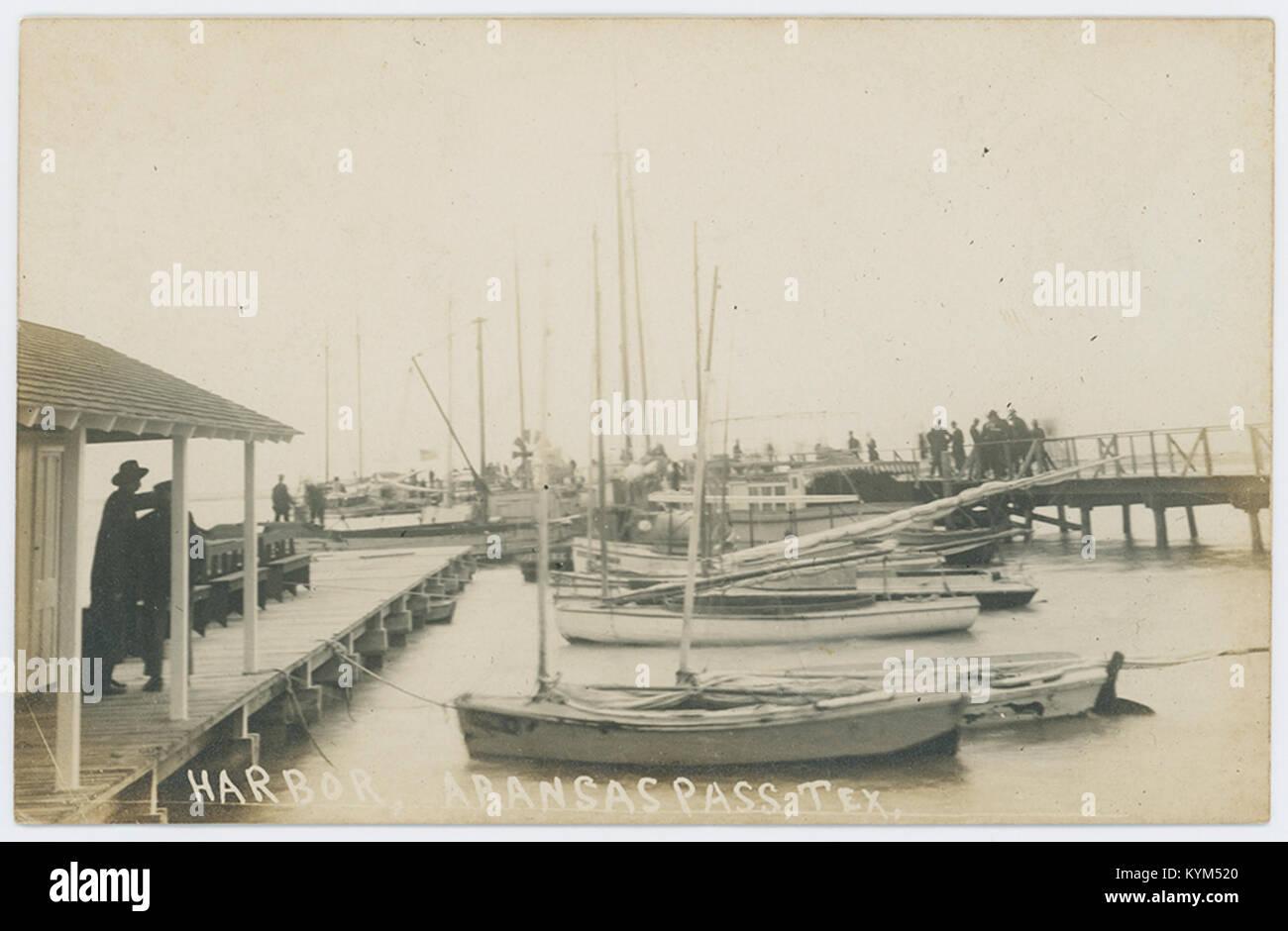 Harbor, Aransas Pass, Tex 35710423341 o - Stock Image