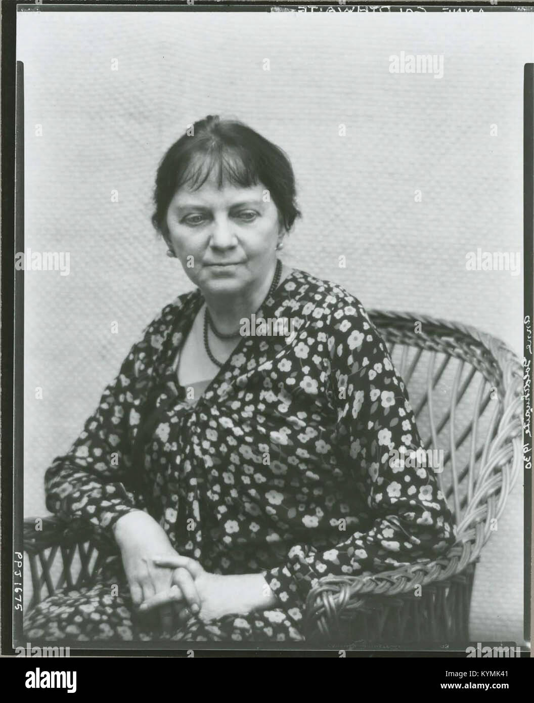 Anne Goldthwaite, American painter and printmaker, 1869-1944 3378173525 o - Stock Image