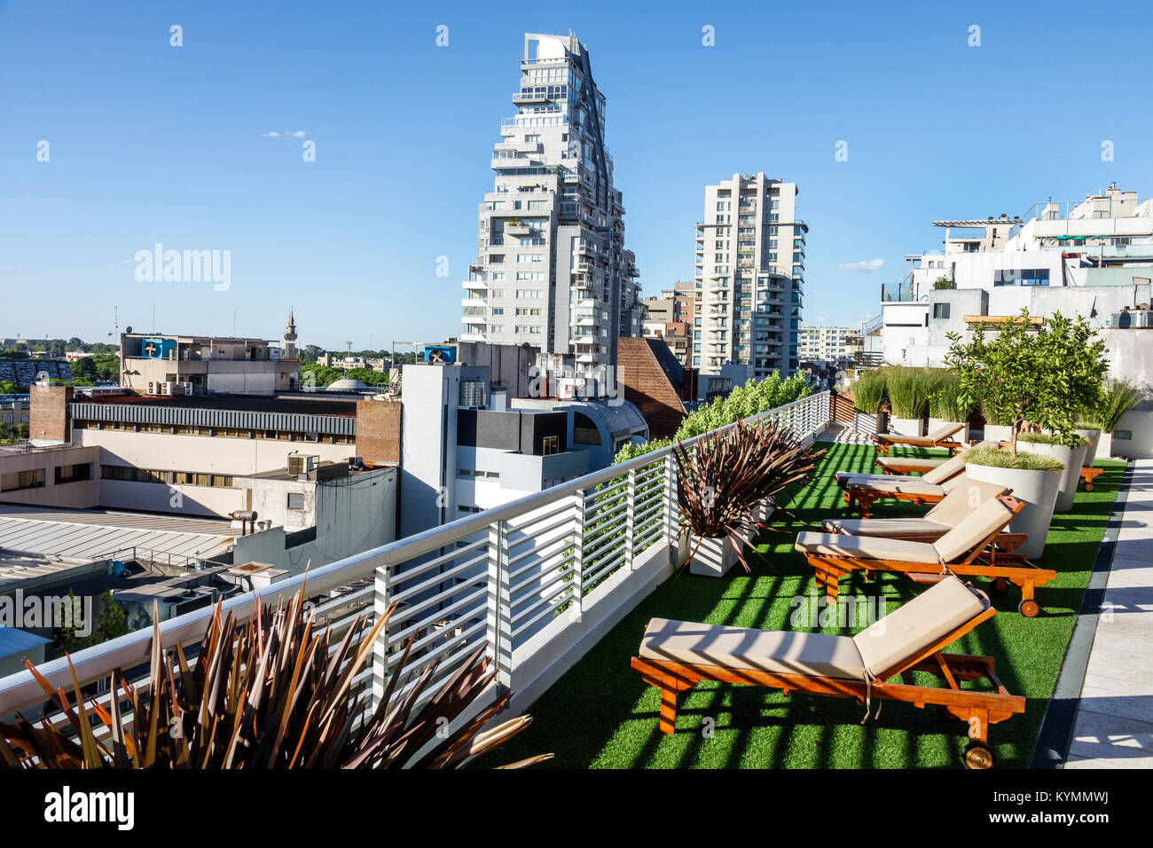 Buenos Aires Argentina Palermo Dazzler Polo Hotel Rooftop