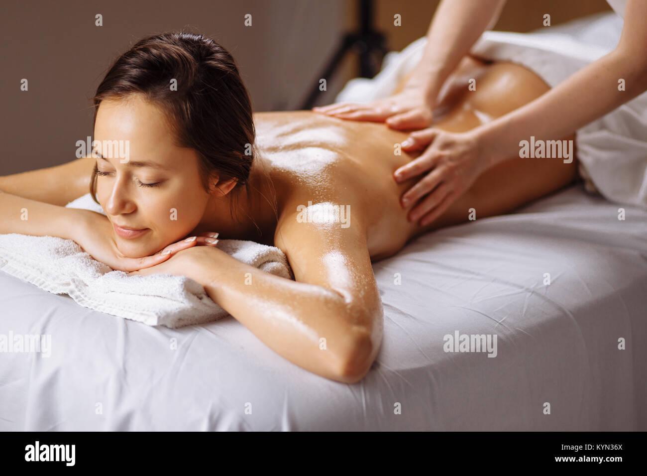 girls having a massage
