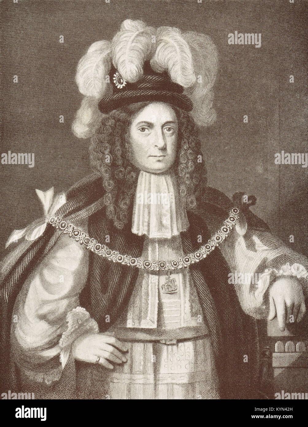 James Butler, First Duke of Ormond - Stock Image