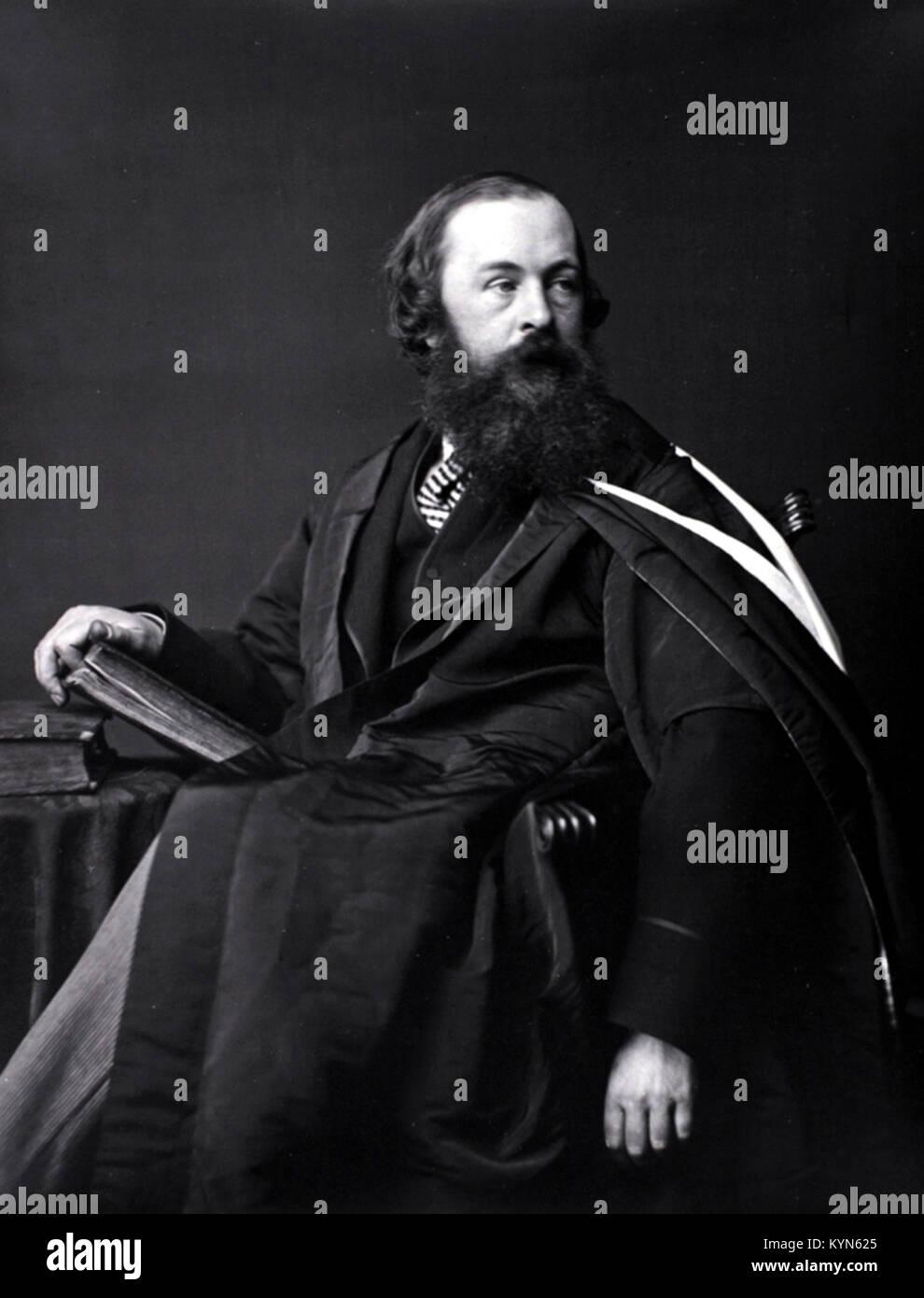 Hugh Blackburn, Bailie Hugh Blackburn, Scottish mathematician - Stock Image