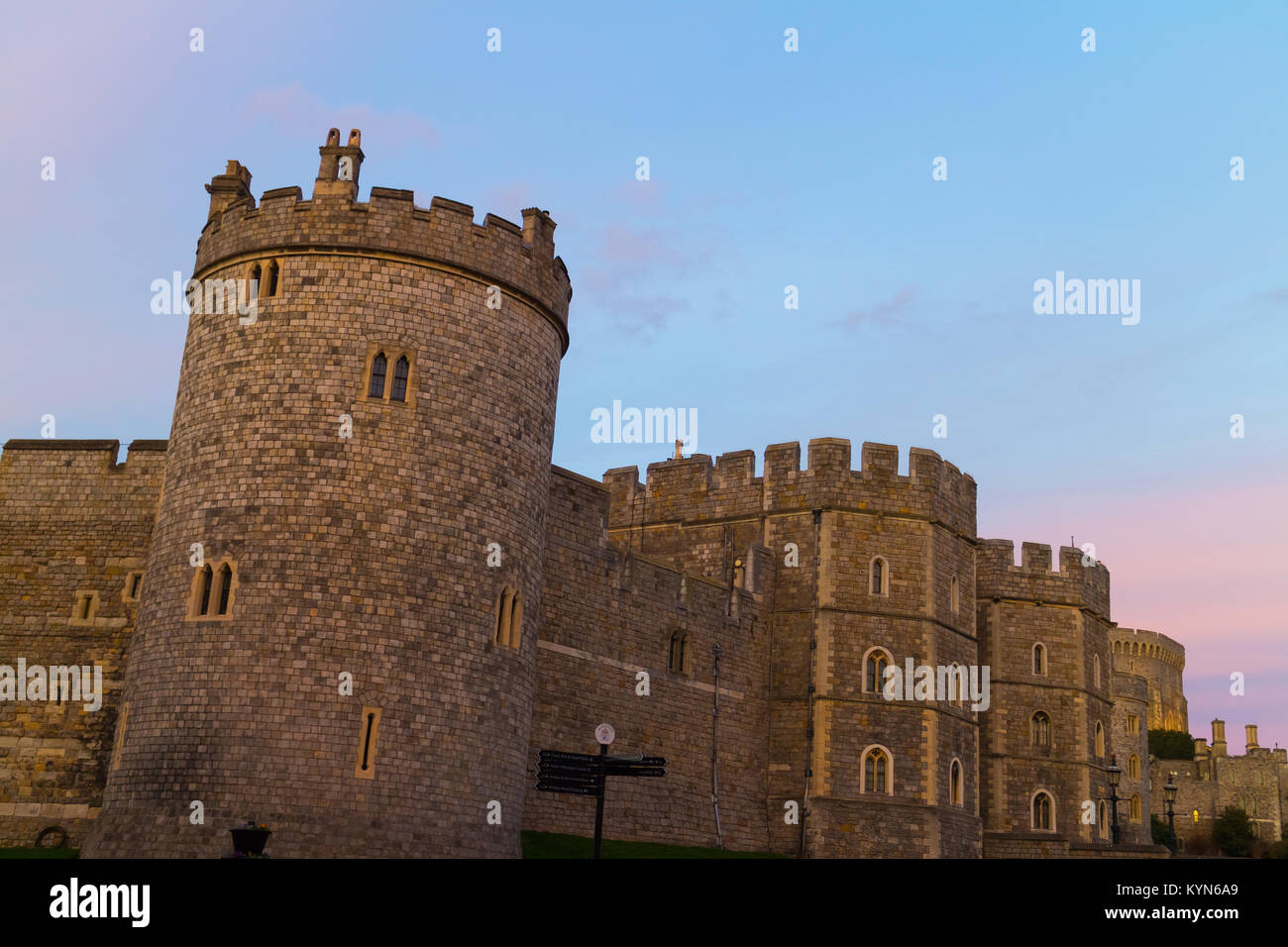 Windsor Castle - Stock Image