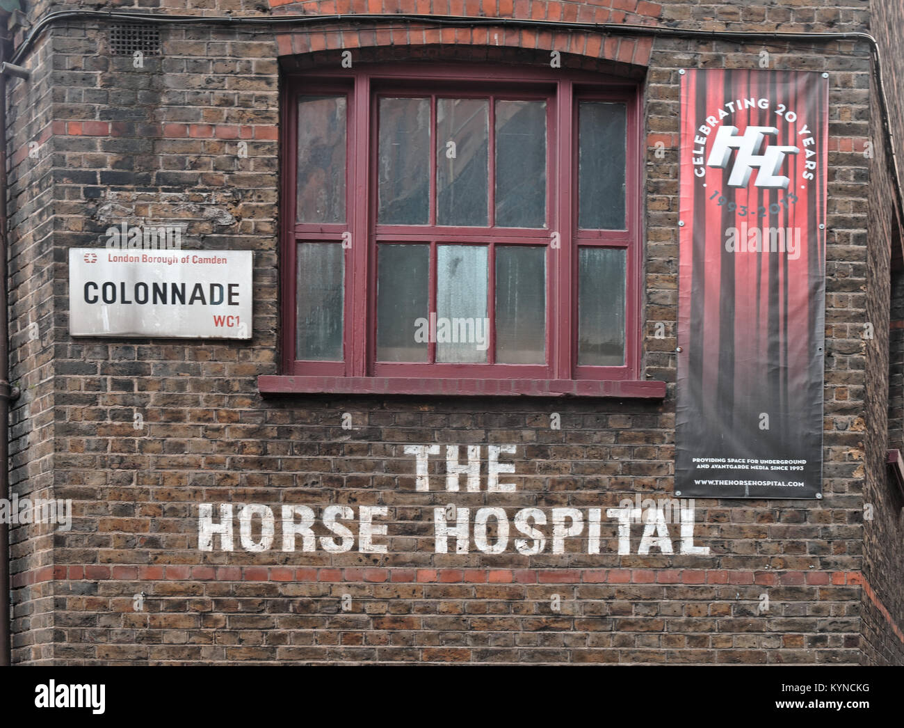 The Horse Hospital. London, England, UK - Stock Image