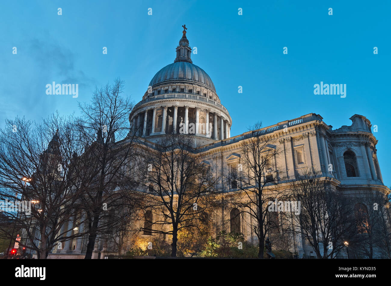 Saint Paul's Cathedral. London. England, UK Stock Photo