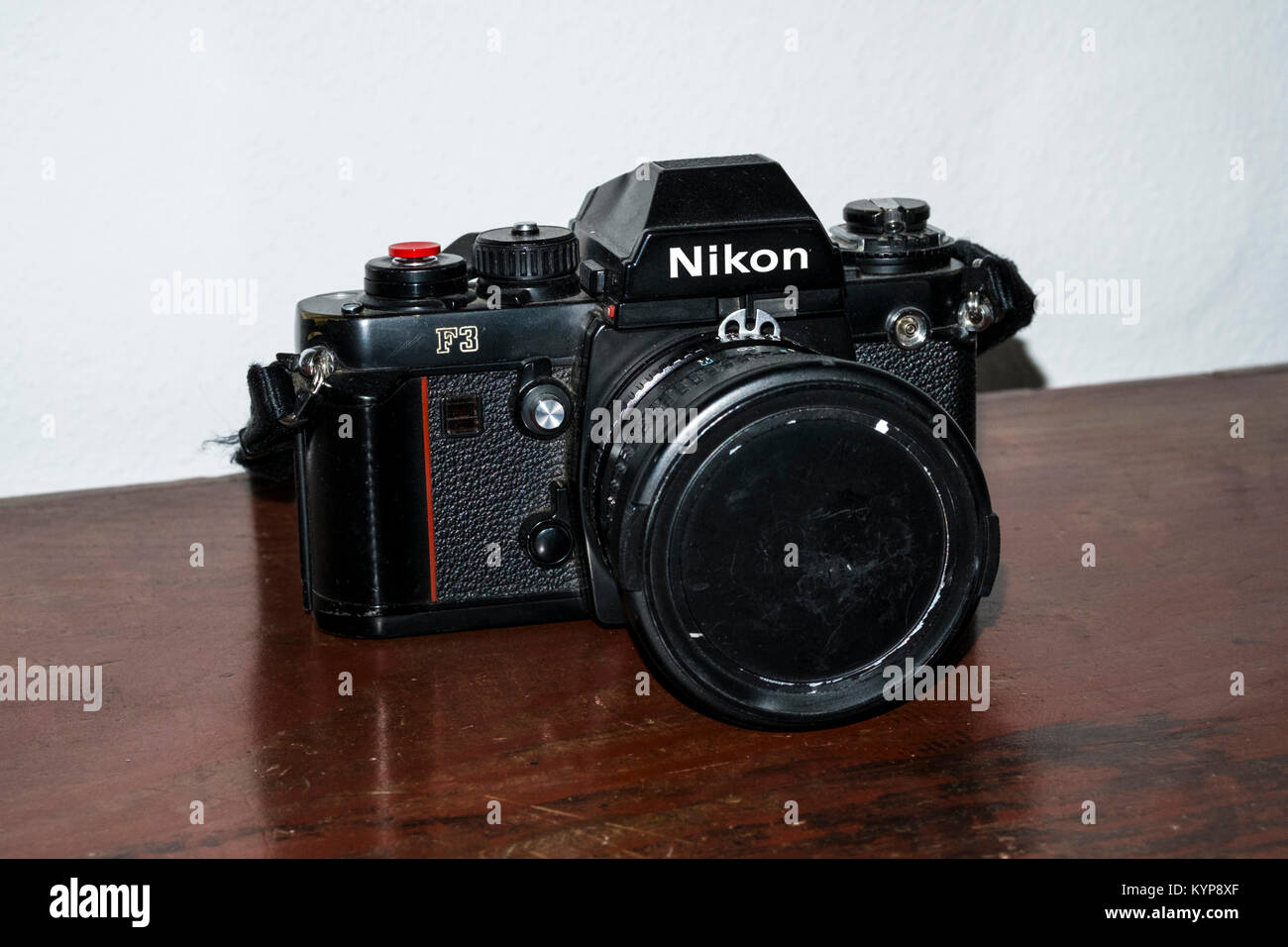 Nikon F3 classic film SLR - Stock Image