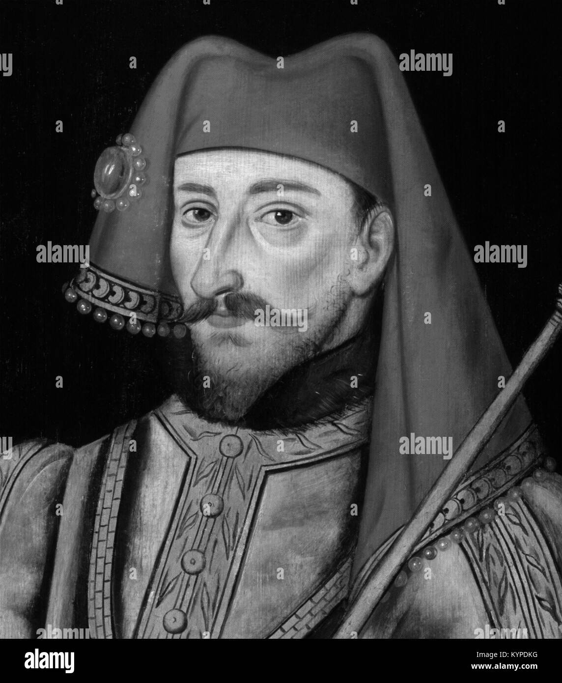 King Henry IV of England (1367-1413), who reigned from 1399 to 1413 Stock Photo
