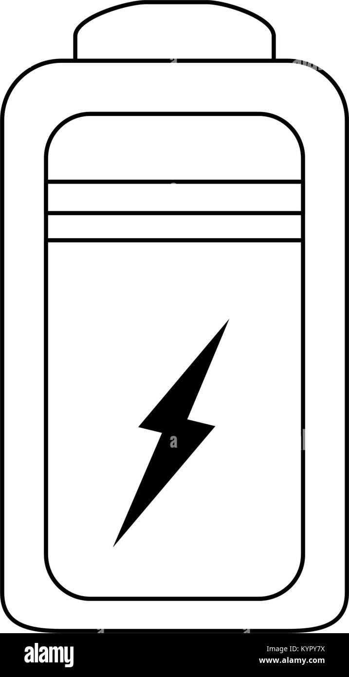 Rechargeable battery symbol Stock Vector Art & Illustration, Vector ...