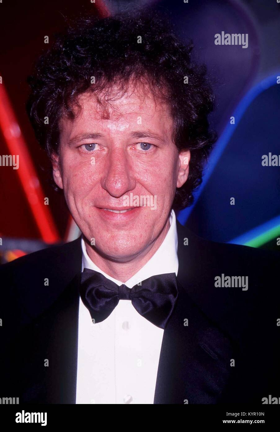 Geoffrey Rush photographed in Los Angeles 1990 RTBoas/ MediaPunch - Stock Image